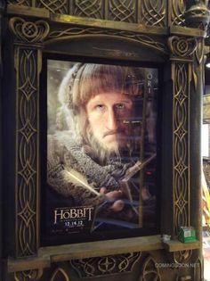 Cartel de El Hobbit, protagonizado por Ori y que se verá en la #ComicCon #SDCC