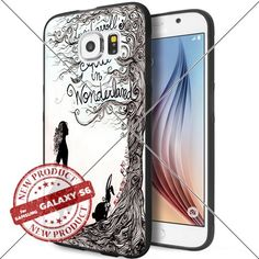 Samsung Galaxy S6 Alice in Wonderland Art Drawing Cell Phone Case Shock-Absorbing TPU Cases Durable Bumper Cover Frame Black Lucky_case26 http://www.amazon.com/dp/B018KOQZ38/ref=cm_sw_r_pi_dp_w27Awb01F46WF