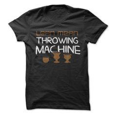 Lean Mean Throwing Machine