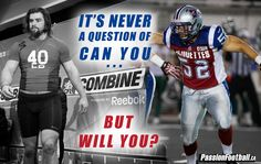 Sports quote : It's never a question of can you... But will you? #quote #sportsquote #warrior #truewill #IWILL #Alouettes #Football #Pro #CFL #CIS #CISfball