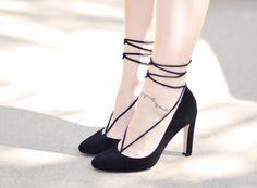 .:* L - Super Cute DIY laced up high heels/barefoot sandle! [by ...love Maegan:: DIY Barefoot Sandal + Shoe Enhancer Fashion + DIY + Lifestyle]