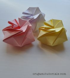 Origami StarPuff Box Tutorial