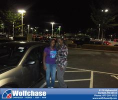 #HappyAnniversary to David Rhodes on your 2013 #Dodge #Avenger from Albert Brown at Wolfchase Chrysler Jeep Dodge!