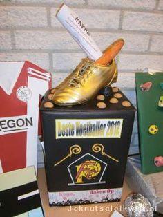 Surprise gouden voetbalschoen
