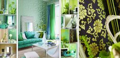 beautiful color combinations, textures and materials
