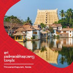 """Sree Padmanabhaswamy Temple in Thiruvananthapuram is a rare temple that brings together the Kerala and Dravidian style of architecture, featuring high walls and a 16th-century gopuram (pyramidical tower over the entrance gate). The principal deity of the temple is Lord Vishnu who is enshrined in the """"Anantha Shayanam"""" posture - the eternal yogic sleep on the serpent Adisheshan. The temple is believed to be the richest temple in the world with nearly $22 bn worth of gold and jewels stored."""
