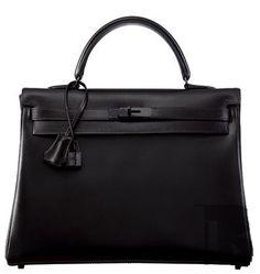 Hermes kelly 35 - so black