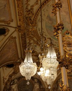 Musee D'orsay Gold Chandelier, Fine Art Photograph