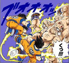 Resultado de imagen para dragon ball z manga a color