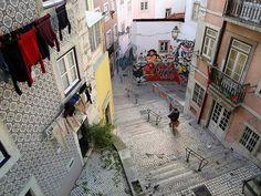 Portugalidades: Lisboa Backstreets - Portugal. By Flyingpast On...