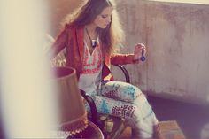 Beautiful Dreamer: how to wear the Bohemian trend now Hippie Style, Bohemian Style, Boho Chic, My Style, Girl Style, Navajo, Guy Aroch, Boho Gypsy, Editorial Fashion