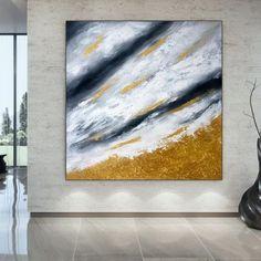 Oversize Wall Art Abstract Art Paintings Original Artwork image 1 Oversized Wall Art, Modern Wall Art, Large Wall Art, Contemporary Art, Original Paintings, Original Artwork, Abstract Art, Gold Paint, Artwork Images