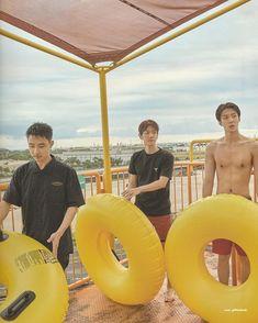 D.O, Baekhyun, Sehun - 190911 Fourth official photobook 'PRESENT ; the moment' Kaisoo, Chanbaek, Exo Ot12, Exo Lockscreen, Young K, Xiuchen, Baekhyun Chanyeol, Exo Kai, Kpop Exo