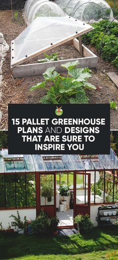 Here is a bunch of solid reasons why your yard could use the addition of a greenhouse, with 15 inexpensive pallet greenhouse plans & designs to choose… - Healthadvent Diy Greenhouse Plans, Pallet Greenhouse, Greenhouse Farming, Build A Greenhouse, Pallets Garden, Pallet Gardening, Greenhouse Wedding, Indoor Greenhouse, Greenhouse Growing