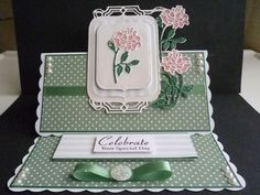 Card made using the new Tonic Flip Flop, Panel and Easel dies