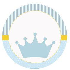 Corona Celeste: Etiquetas para Candy Bar para Imprimir Gratis.