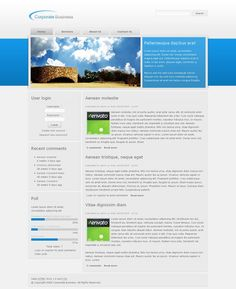 Corporate Business Premium Drupal Theme from Theme Forest