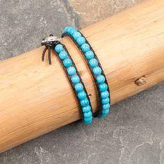 Montana Silversmiths Turquoise Beaded Bracelet