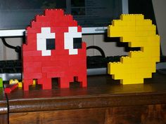 Lego Ghost & Pacman | Flickr - Photo Sharing!