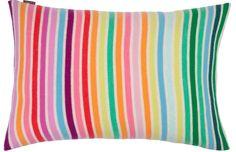 almond wide rainbow stripe