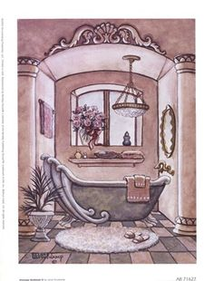 Vintage Bathtub ll