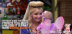 "S3 Ep8 ""A Knight to Remember"" - Wise words from Bonnie! #BabyDaddy"