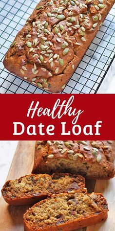 Healthy Date Loaf Recipe - Cook It Real Good Looking for the perfect baked treat for the next time your entertaining? Try out this healthy date loaf! Healthy Cake, Healthy Sweets, Healthy Baking, Healthy Recipes, Diabetic Cake Recipes, Date Loaf, Date Bread, Loaf Recipes, Baking Recipes