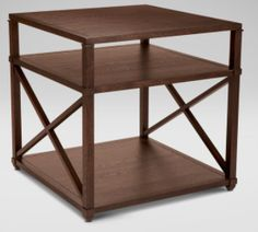 "28""sq. x 26'h  http://www.ethanallen.com/en_US/shop-furniture-living-room-side-and-accent-tables-side-tables/highland-square-end-table/258102+++345.html"