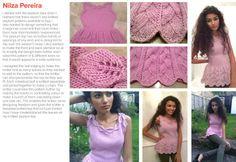 My loveknitting competition finalist promo on Fashionone.com