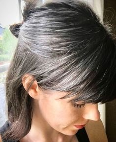 Trendy Hair Color Grey Highlights Going Gray Dyes 38 Ideas