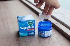 Ik wist dat Vicks VapoRub goed was tegen verkoudheid, maar ik wist niet dat je er ook DIT mee kon doen — en jij?