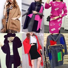 Gmarket - Knit Dress/Cape Overcoats/Capes