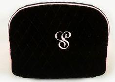 Quilted Black Velvet Cosmetic Bag Zazendi http://www.amazon.com/dp/B0014C4XZ6/ref=cm_sw_r_pi_dp_1iW2wb0TY02YD