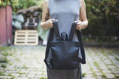 Vegan bags and backpacks. Handmade in Vienna, Austria.Where Fair production meets timeless design Vienna Austria, Timeless Design, Leather Backpack, Backpacks, Vegan, How To Make, Bags, Accessories, Fashion