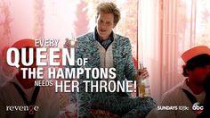 Revenge Nolan ∞Every queen of the Hamptons needs her ∞Thorne ∞