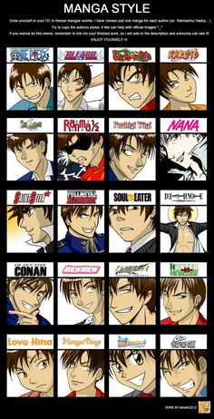 ______________________________________________ I found this meme a few months ago and I felt like make it. It's been interesting to draw my OC Norlij in different manga syles. Manga Art, Anime Art, Otaku, Art Style Challenge, Cartoon Crossovers, Anime Crossover, Soul Eater, Manga Characters, Anime Fantasy