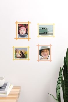 15 Creative Photo Display Ideas That Don't Need Frames