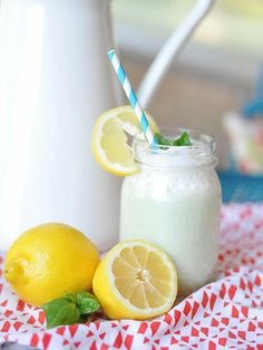 Fresh Basil Lemonade:  It unusual but this slightly dessert-y mixture of bitter greens and yogurt is sure to be a crowd-pleaser.