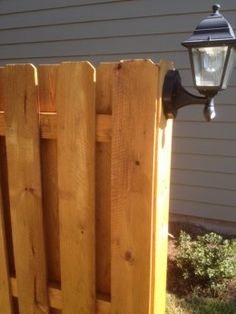 Building A Shadow Box Privacy Fence