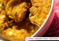 Kukoricapelyhes ropogós csirkemellfalatok Macaroni And Cheese, Chicken, Meat, Ethnic Recipes, Food, Mac And Cheese, Eten, Meals, Cubs