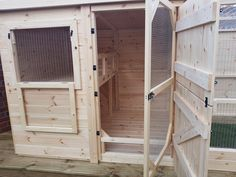 Hutches & Sheds and rabbit enrichment hides supplied by Manor Pet Housing Bunny Sheds, Rabbit Shed, Guinea Pig House, Pet Guinea Pigs, Rabbit Habitat, Rabbit Enclosure, Bunny Room, Bunny Hutch, Indoor Rabbit