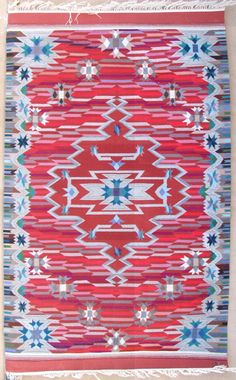 Irvin Trujillo of Centinela Traditional Arts in Chimayo, NM. Tapestry.