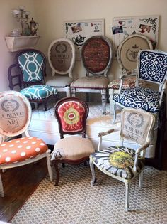 Eclectic Dining Chair Styles and Upholstery Inspiration