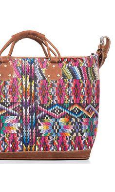ZigZag Brights Weekender Bag