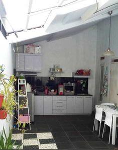 26 best desain dapur terbuka & semi outdoor menghadap