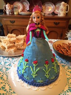 Anna cake for Frozen Party
