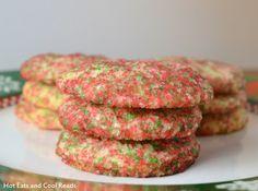 Big Crunchy Sugar Cookies Recipe
