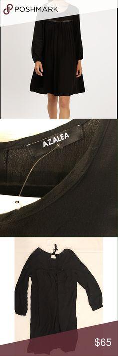 Azalea Caira Boho Dress black size SM new w/tags Azalea Caira Boho Dress in black new with tag.  Beautiful dress lightweight azalea Dresses Long Sleeve