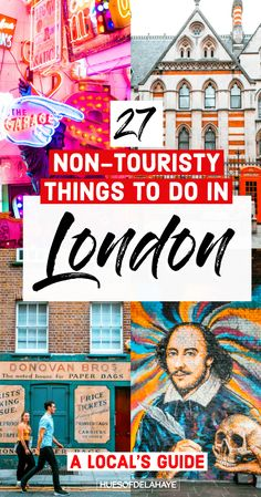 Looking for non touristy things to do in London England? This guide is filled of London hidden gems and cool places to visit in London for free and without the unusual crowds. London Free, London Map, London Skyline, London Places, London Travel, London England Travel, Amsterdam Travel, East London, Restaurants In Paris