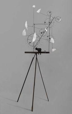 Jean Tinguely, 'Scultura Metamechanical con treppiede' 1954